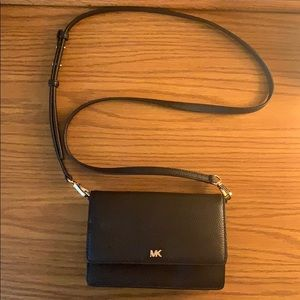 MK Pebbled Leather Crossbody Bag